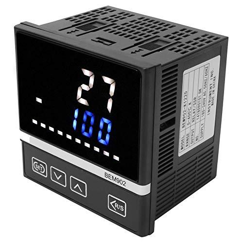 BEM90 180-240VAC temperatuurregelaar, K-type LED-thermostaat voor digitale weergave, RELAIS/SSR-uitgang 0-400 °C