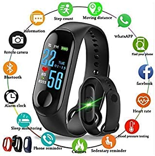 9bdd92722c1 KDENTERPRISE M3 Bluetooth Smart Health/Fitness Band Compatible for All  Device