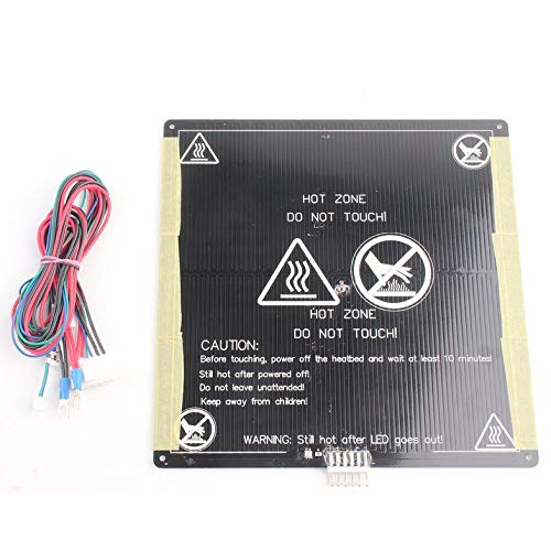 ghfcffdghrdshdfh MK3 12V heatbed 3D Printers heat aluminium plaat 3 mm PCB board accessoires