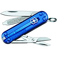 Victorinox Kleines Taschenwerkzeug Navaja, Azul Translucido