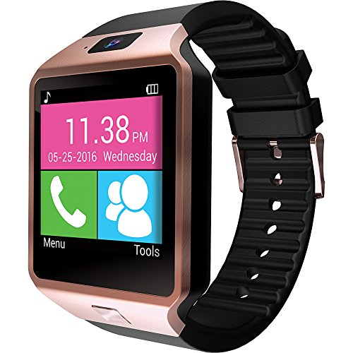 Lowest Prices! SLIDE - Smart Watch Compatible with Android and iOS - Rose Gold
