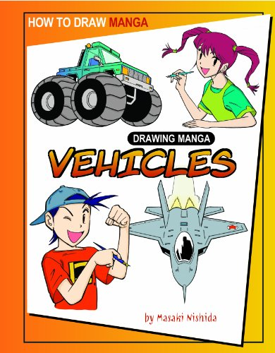 How to Draw Manga, Drawing Manga Vehicles