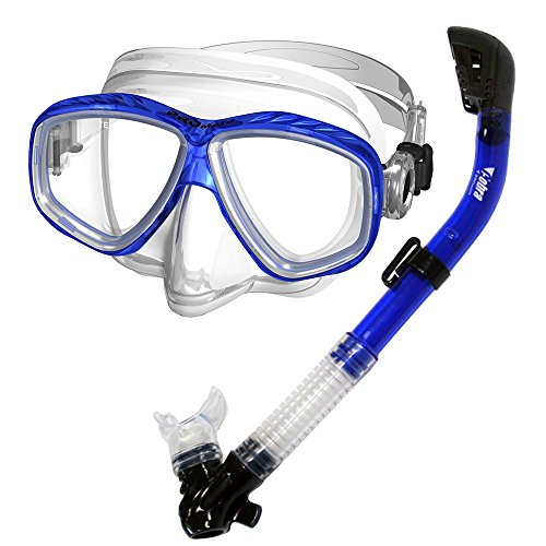 Snorkel with Purge Valve Scuba Diving Snorkelling NEW