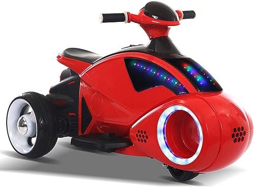 tienda en linea MEILA Niño Motocicleta Eléctrica Eléctrica Eléctrica 3-8 años Coche para Niños Coche de Juguete Puede Sentarse Boy Triciclo de Carga Motocicleta costosa 6 V Scooter eléctrico Bicicleta de Juguete Niño ( Color   rojo )  últimos estilos