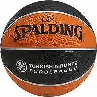Euroleague Pallone da Basket Spalding Replica Tf150, Unisex Adulto