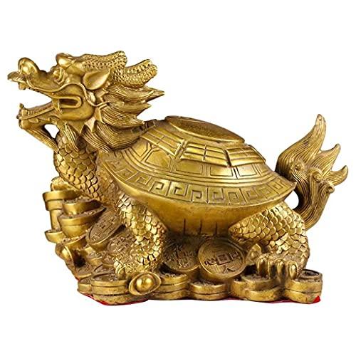Decoration Dragon Tortue Statue, Bureau Home Wealth Decor Lu