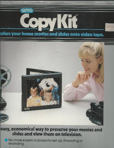 Sima Copy Kit - Transfer Movies & Slides to Video