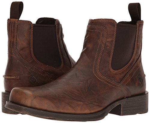ARIAT - Chaussures occidentales Midtown Rambler Casual pour Hommes, 43 M EU, Barn Brown