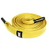 Gold Shoelace Belt - 100% polyester, extra long, durable, comfortable, for all ages - Lacorda Threads