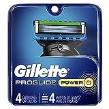 Gillette ProGlide Men's Razor Blades, 4 Blade Refills