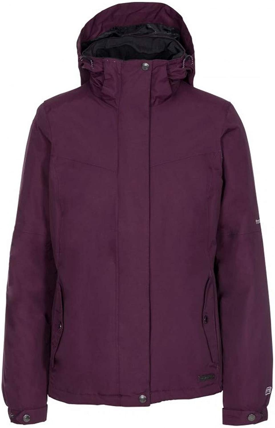 Trespass Womens Ladies Malissa Lightly Padded Waterproof Jacket