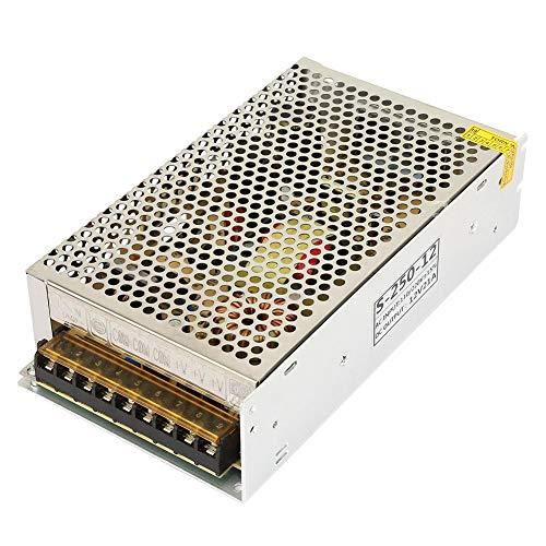 Schakelende voeding, S-250W-12 DC 12V 21A LED-schakelende voeding Driver-adapter voor industriële installaties