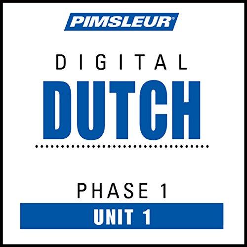 Dutch Phase 1, Unit 01 audiobook cover art