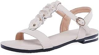 BalaMasa Womens ASL06901 Pu Fashion Sandals