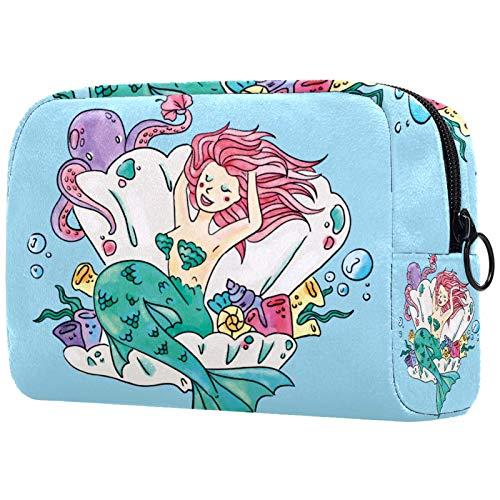 Bolso cosmético portátil del almacenamiento del bolso multifuncional de la señora del bolso cosmético del viaje 023