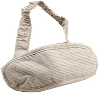 Japanese-style Stripe Travel Cotton Breathable Knitted Goggles A6