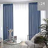 Rideaux d'occultation pour rideaux de fenêtre de chambre à coucher de cuisine...
