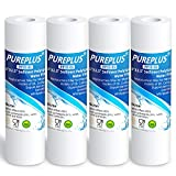 5 Micron 10' x 2.5' Whole House Sediment Water Filter Replacement Cartridge Compatible with Any 10 inch RO Unit, Culligan P5, Aqua-Pure AP110, Dupont WFPFC5002, CFS110, RS14, WHKF-GD05, 4-Pack