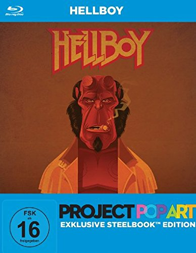 Hellboy (PopArt Steelbook Edition) [Blu-ray] [Director's Cut]