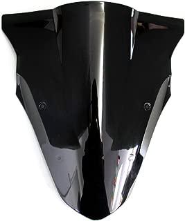 OyOCycle Windshield for Kawasaki NINJA 650 ER6F 2012-2016 Double Bubble Windscreen Wind Deflector Wind Splitter