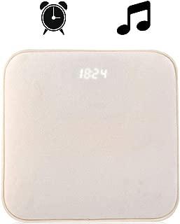 Teepao - Pressure Sensitive Alarm Clock Carpet Electronic Digital Clock Bedroom Anti-Slip Wear-Resisting Soft Mat Student Lazy Alarm Bell