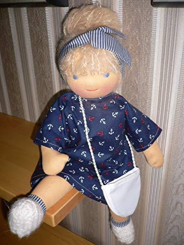 Puppe Waldorf Art / handgefertigte Stoffpuppe/Puppe nach Art der Waldorfpuppe, aus natürlichen Materialien