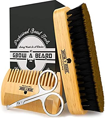Beard Brush & Comb