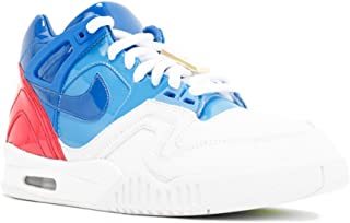 Mens Air Tech Challenge II SP White/Blue-Red Leather
