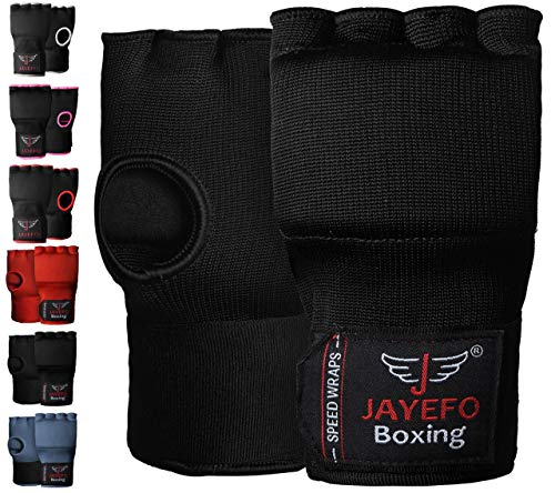 Jayefo Sports Kickboxing Speed Wraps Fast Hand Wraps for Boxing