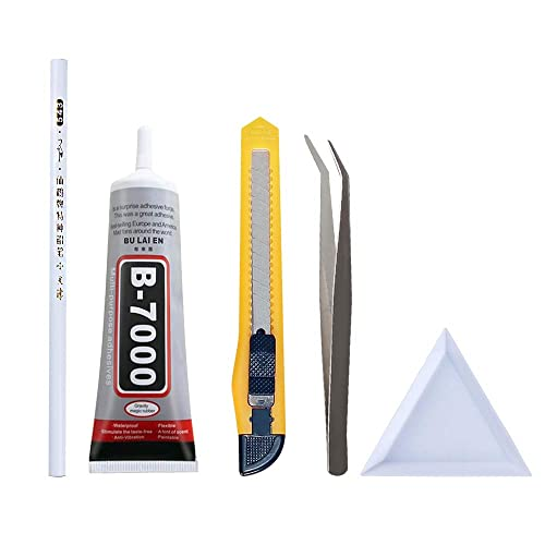 BCQLI Nail Tool Set,Wax Rhinestone Picker Pencil