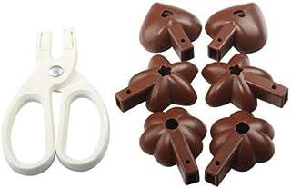 SOOGGI チョコレート型 モールド ケーキ型 ベーキングモールド チョコレートビスケット ベーキングトレイ キッチン用品 調理器具 製菓道具
