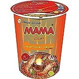 MAMA Instant-Cup-Nudeln cremige Tom Yum mit Shrimpsgeschmack – Instantnudelsuppe orientalischer Art – Authentisch thailändisch kochen – 16 x 70 g (Lebensmittel & Getränke)