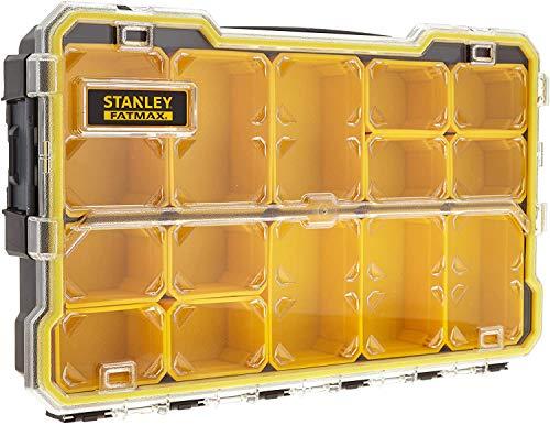 STANLEY 2 x Fatmax Pro 2/3 organizer poco profondo, nero (1 pezzo)