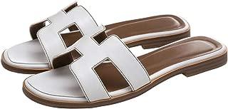 Women's Flat Casual Fashion Summer Sandals Slippers outsdoor Open Toe H Shape Slippers