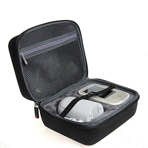 Hermitshell EVA Hard Protective Travel Case Carrying Pouch Cover Bag Fits Infant Optics DXR-8 Video Baby Monitor with Interchangeable Optical Lens