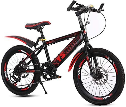 Best Bargain HongLianRiven BMX Mountain Bike with Rims Made of Aluminum Alloy, Non-Slip Handle Varia...