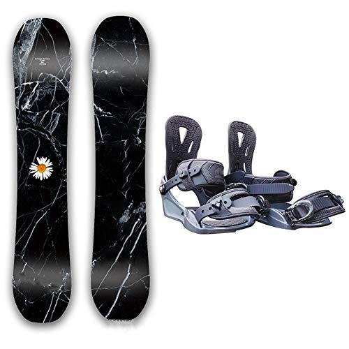 Dybory All-Mountain Snowboard System, Snowboard Mit Bindungen Und Stiefeln Damen Komplettes Snowboard Paket, Stiefel Größe L,148cm