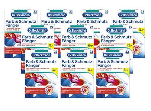 Dr. Beckmann Farb & Schmutz Fänger mit Farbfang-Molekülen 10x22 Tücher