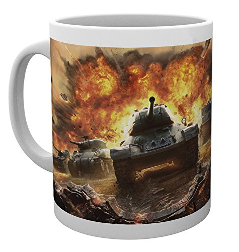 World of Tanks Tasse - Roll Out