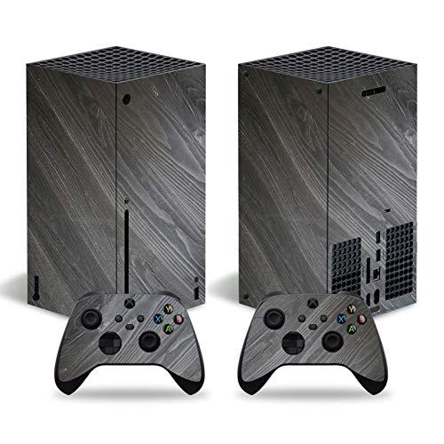 LUONE Sticker Vinyle de Peau de Design de Bois pour la série Xbox Série PVC Couverture de décalque pour Microsoft Xbox Série X Console et contrôleurs,3048