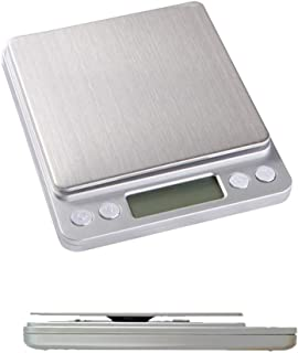 Cotchear LCD Digital Scale 3kg 0.1g Electronic Weighing Scale Mini Precision Grams Weight Balance Scale for Kitchen
