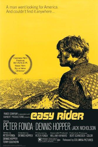 Estudio B un póster de película Easy Rider