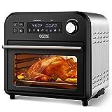 8-In-1 Toaster Oven Air Fryer, 6-Slice Countertop...