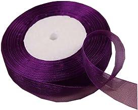 49 Yards(2cm)/Organza Ribbon for Festive Decoration DIY Crafts Arts & Garden, B
