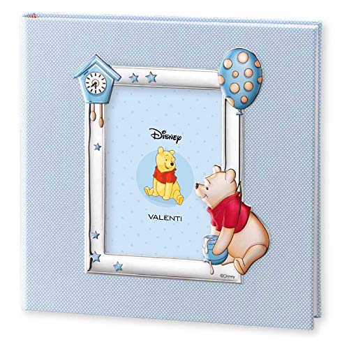 Disney Baby Album Photo 30x30 Bleu Winnie The Pooh by Valenti Argenti
