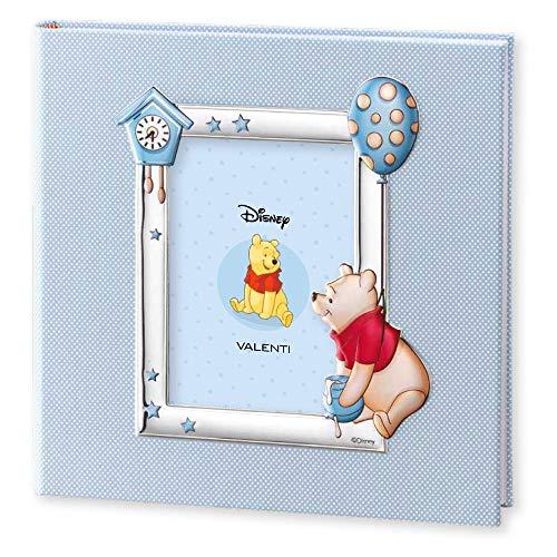 Disney Baby Album Photo 30x30 Bleu Winnie The Pooh by Valenti Argenti