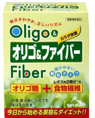 ジャパンギャルズ オリゴ&ファイバー 5g×30包入