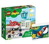 Collectix Lego Set – Duplo Aeroporto e aeroporto 10961 + DUPLO Il mio primo rakete spaziale 30332
