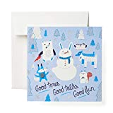 American Greetings Holiday Card (Snowmen)