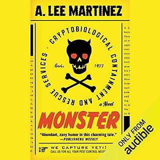 Monster audiobook cover art